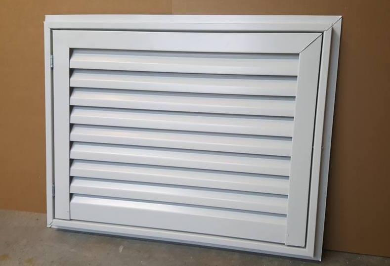 Aluminum Access Doors & Louvers Vents and Grilles for the HVAC Industry - Aluminum Access Doors