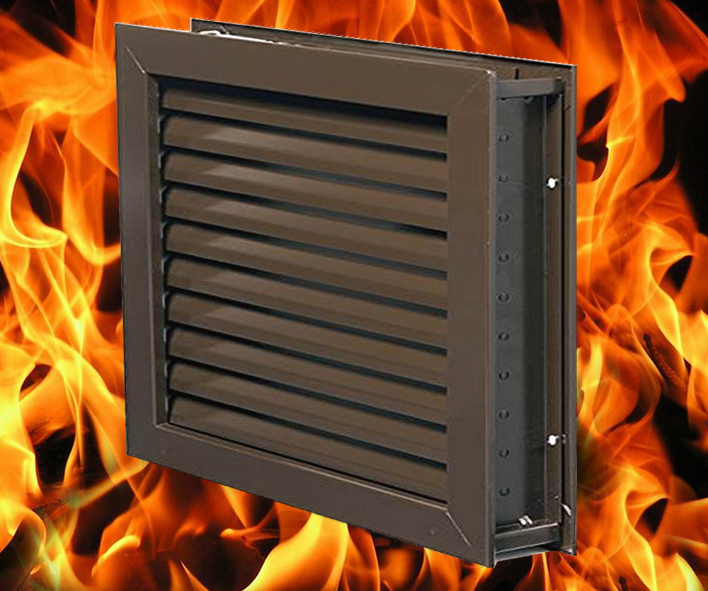 Louvers Vents And Grilles For The Hvac Industry Fusible