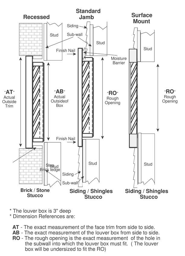 diamond wood gable vents