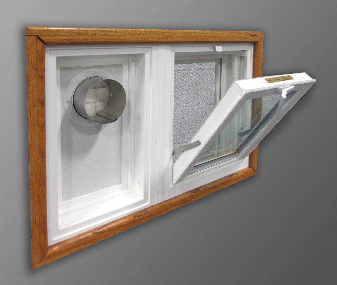 WeatherMaster Hopper Window u0026 Dryer Vent : basement window ventilation  - Aeropaca.Org