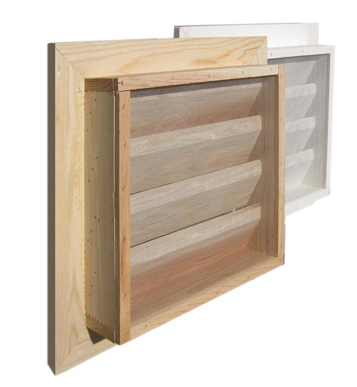 Wood Door Vent Grille : Door louvre vents aluminum wood air grille bathroom
