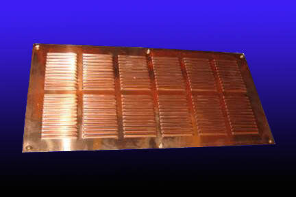 Copper Soffit Vents