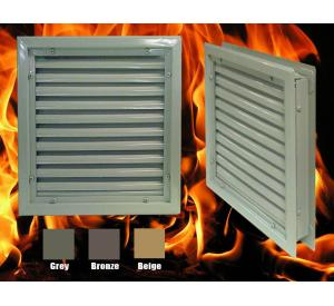 1900-A Fusible Link Fire Rated Door Louver
