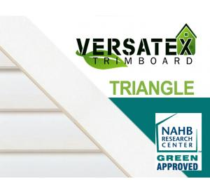 VERSATEX Center Triangle Gable Vents