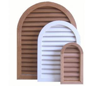 Tombstone Wood Gable Vents